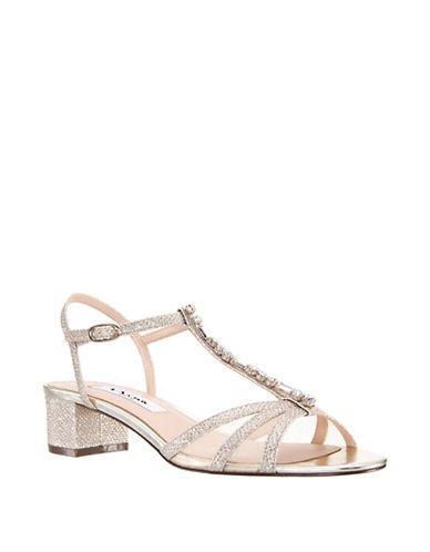 Nina Genova Embellished Ankle-Strap Sandals 90215682