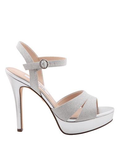 Nina Shara Platform Sandals-SILVER-6.5