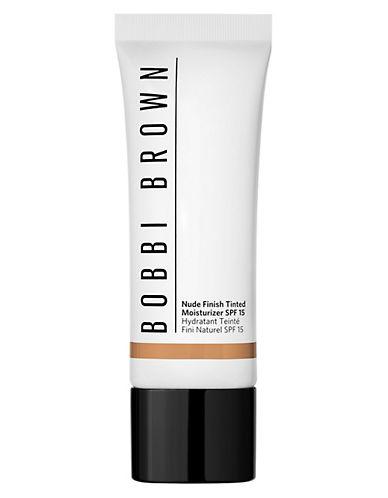 Bobbi Brown Nude Finish Tinted Moisturizer SPF 15-MEDIUM TO DARK-One Size