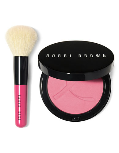 Bobbi Brown Pink Peony Illuminating Bronzing Powder Two-Piece Set-PINK PEONY-One Size