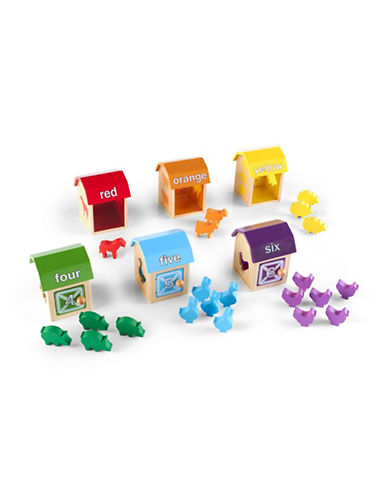 Guidecraft Inc Barnyard Activity Boxes-MULTICOLOR-One Size
