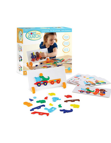 Guidecraft Inc Animal Train Sort and Match-MULTI-One Size