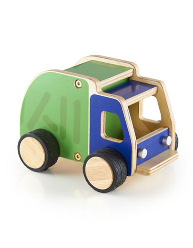 Guidecraft Inc Plywood Garbage Truck-MULTICOLOR-One Size