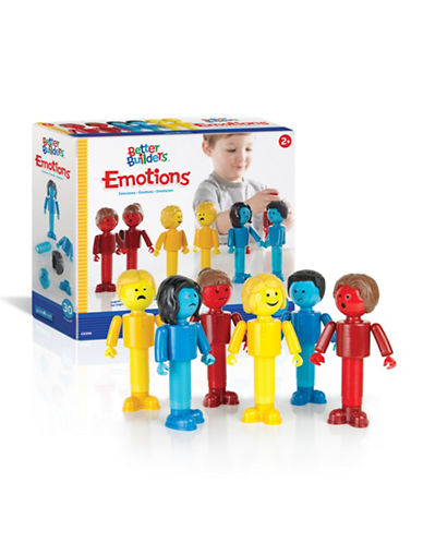 Guidecraft Inc Better Builders Emotions 30-Piece Set-MULTICOLOR-One Size