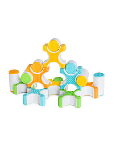 Guidecraft Inc 16-Piece Grippies Stackers Set-MULTI-One Size