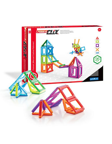 Guidecraft Inc PowerClix Frames 26-Piece Set-MULTICOLOR-One Size