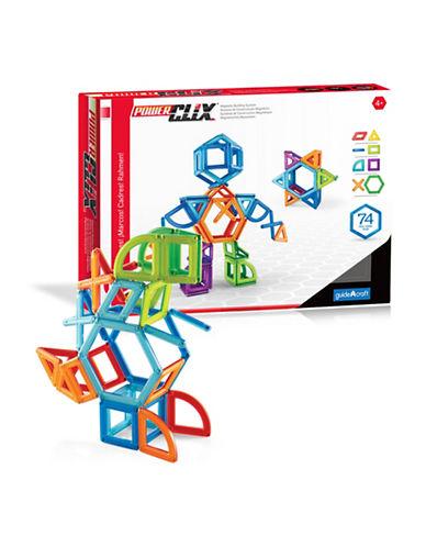 Guidecraft Inc PowerClix Frames 74-Piece Set-MULTICOLOR-One Size