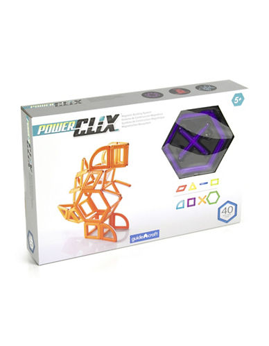 Guidecraft Inc PowerClix Creative 40-Piece Set-PURPLE-One Size