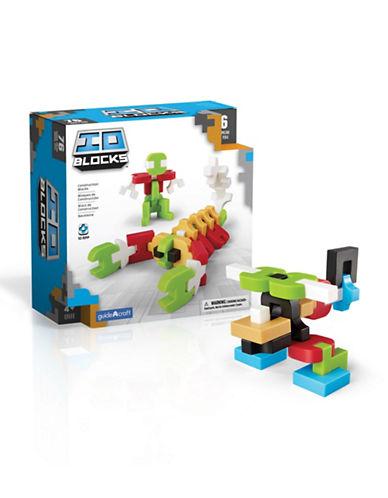 Guidecraft Inc IO Blocks 76-Piece Set-MULTICOLOR-One Size