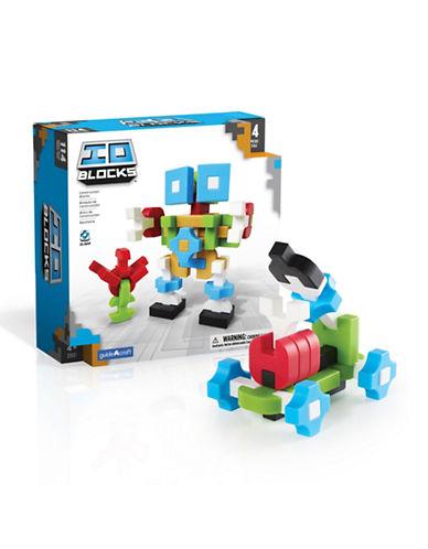 Guidecraft Inc IO Blocks 114-Piece Set-MULTICOLOR-One Size