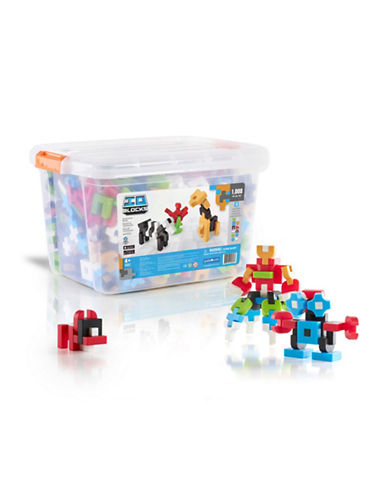 Guidecraft Inc IO Blocks 1000-Piece Education Set-MULTICOLOR-One Size