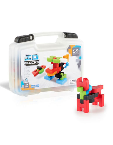 Guidecraft Inc IO Blocks 59-Piece Travel Set-MULTICOLOR-One Size