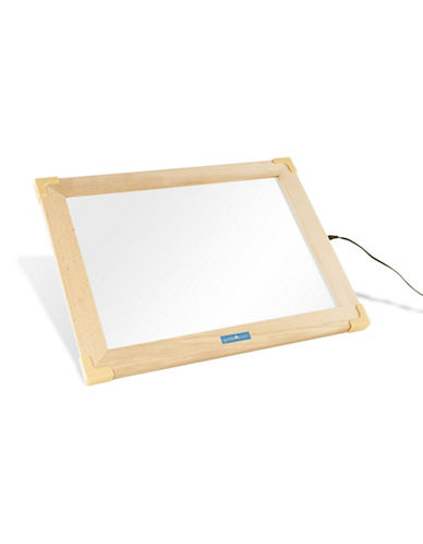 Guidecraft Inc Ultra-Slim LED Activity Tablet-NATURAL-One Size