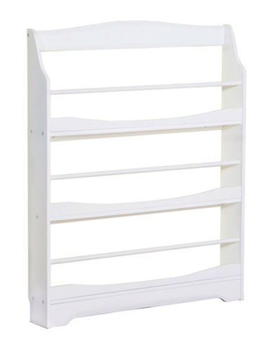 Guidecraft Inc Expressions Bookrack-WHITE-One Size