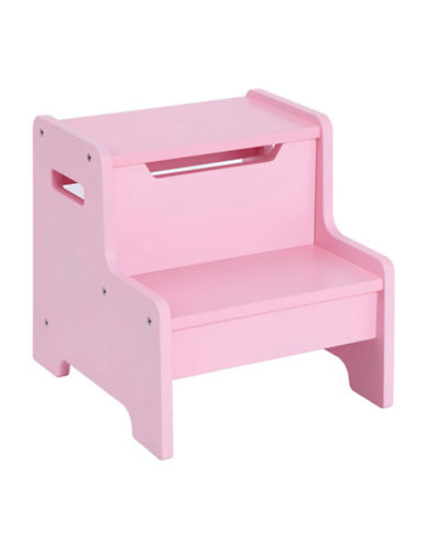 Guidecraft Inc Expressions Step Stool-PINK-One Size