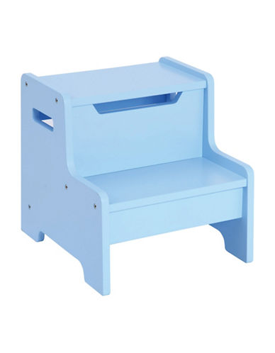 Guidecraft Inc Expressions Step Stool-BLUE-One Size