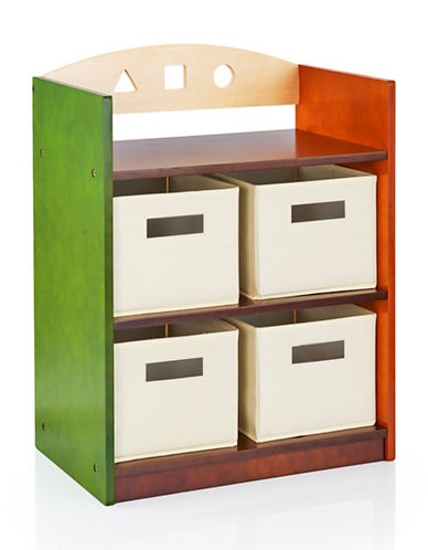 Guidecraft Inc See and Store Bookshelf-MULTI-COLOUR-One Size