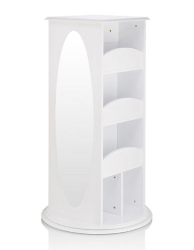 Guidecraft Inc Rotating Dress Up Storage-WHITE-One Size