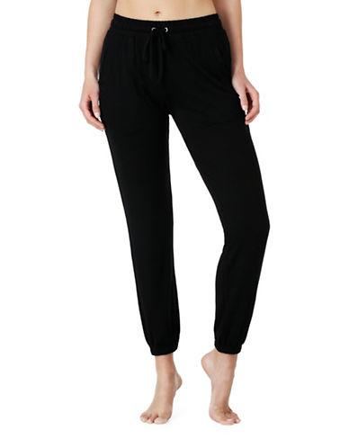 Kensie Jersey Jogger Pyjama Pants-BLACK-Medium 88893339_BLACK_Medium
