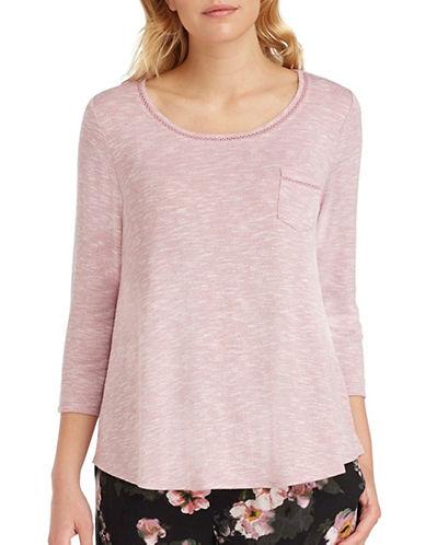 Kensie Three-Quarter Pajama Top-KENSIE-Medium