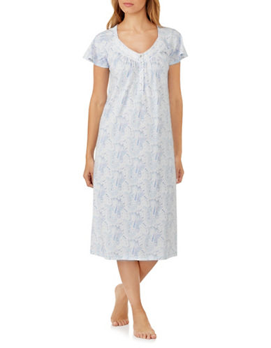 Aria Ballet Paisley Nightgown-ASSORTED-Medium
