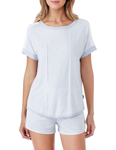 Dkny Striped Top-GREY-Large 88784371_GREY_Large