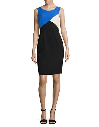 Kasper Suits Colourblock Sheath Dress 89944715