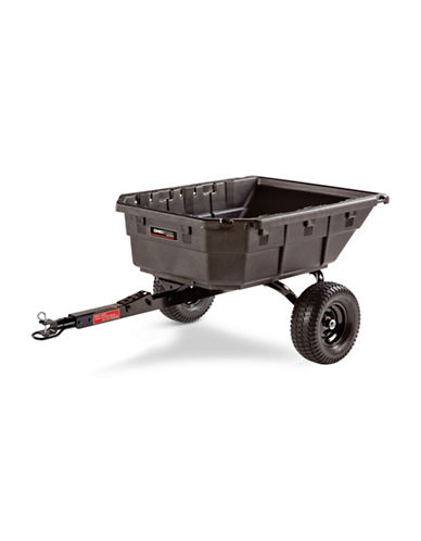 Ohio Steel Poly Swivel Dump Cart - 12.5 Cu. Ft.-BROWN-One Size