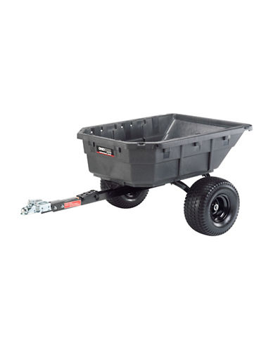 Ohio Steel Poly Swivel ATV Cart - 12.5 Cu. Ft.-GREY-One Size