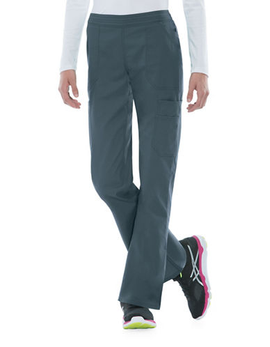 Dickies Antimicrobial with Fluid Barrier Flare Pants-PEWTER-XX-Small