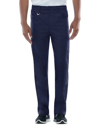 Dickies Antimicrobial Zip Fly Pull-On Pants-NAVY-Large