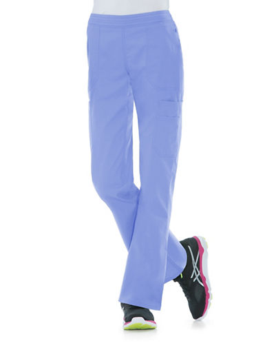 Dickies Antimicrobial Mid Rise Flare Leg Pants-CIEL-Small