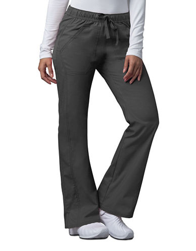 Dickies Antimicrobial Low Rise Straight Leg Drawstring Pants-PEWTER-X-Small