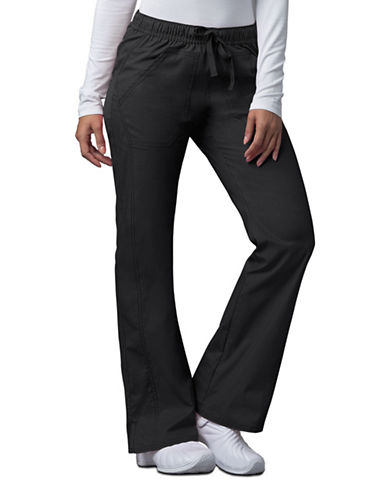 Dickies Antimicrobial Low Rise Straight Leg Drawstring Pants-BLACK-Small