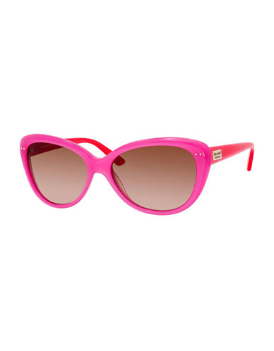 Kate Spade New York Angelique Sunglasses-PINK ORANGE-One Size