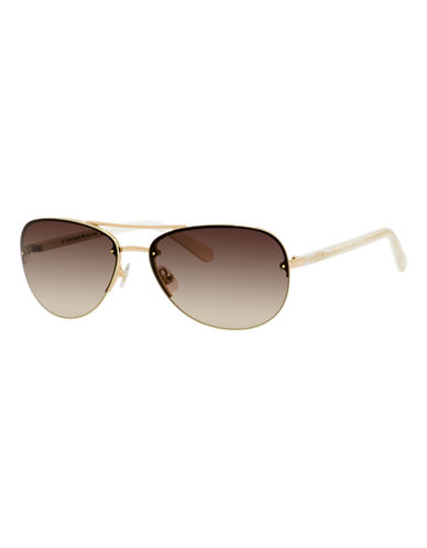 Kate Spade New York Beryl Sunglasses-ROSE GOLD-One Size