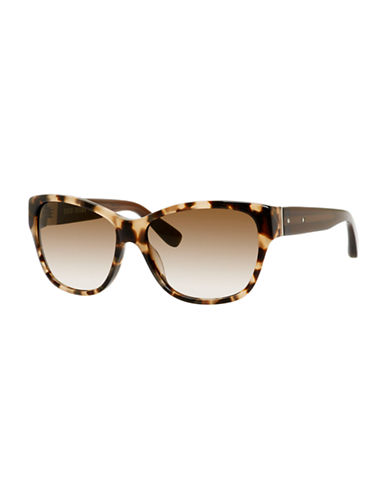 Bobbi Brown The Veronika Square Sunglass-CAMEL TORTOISE-One Size