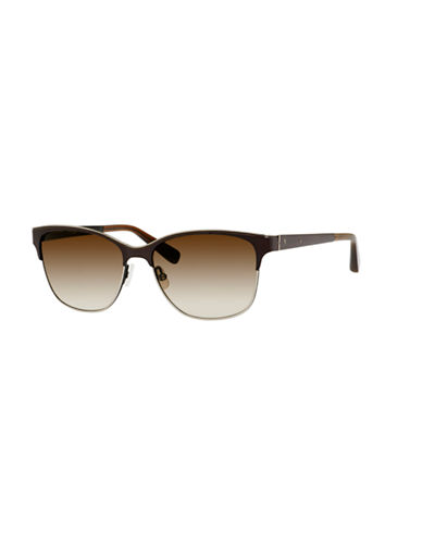 Bobbi Brown The Ruby Clubmaster Sunglass-BROWN-One Size