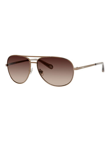 Fossil Vintage Inspired Aviator-BLACK-One Size