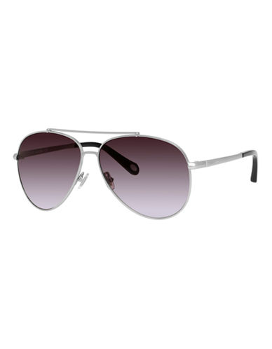 Fossil Vintage Inspired Aviator-RUTHENIUM-One Size