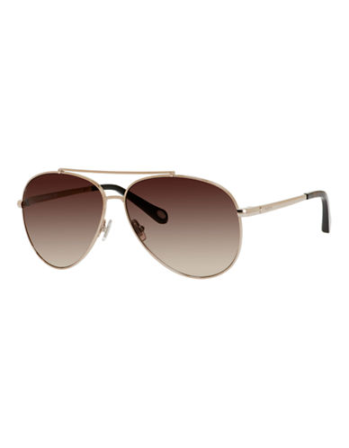 Fossil Vintage Inspired Aviator-ALMOND-One Size