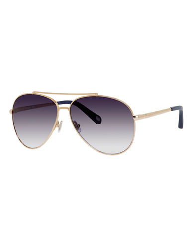 Fossil Vintage Inspired Aviator-SHINY GOLD-One Size