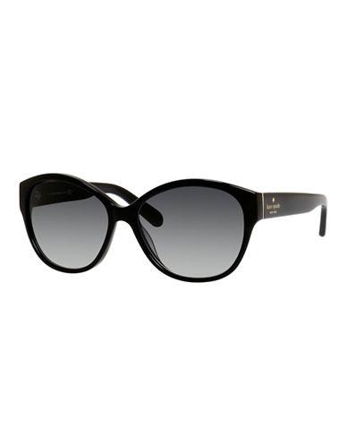 Kate Spade New York Kiersten Sunglasses-BLACK-One Size