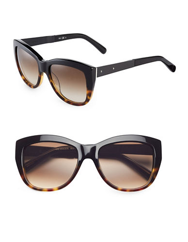 Bobbi Brown 54mm Grace Cat-Eye Sunglasses-BLACK TORTOISE FADE-One Size