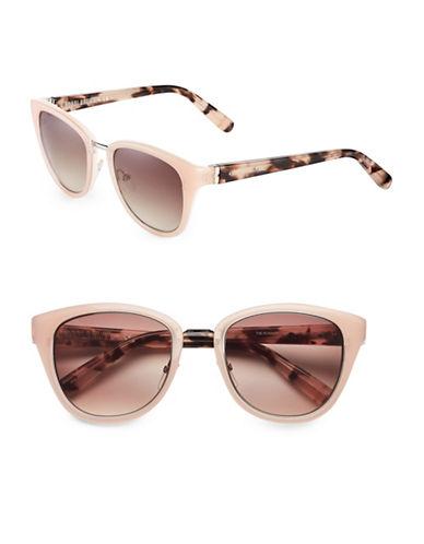 Bobbi Brown 53mm Rowan Bridge Cat-Eye Sunglasses-PINK CREAM-One Size
