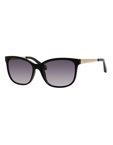 Fossil Wayfarer 3038 Sunglasses-BLACK-One Size