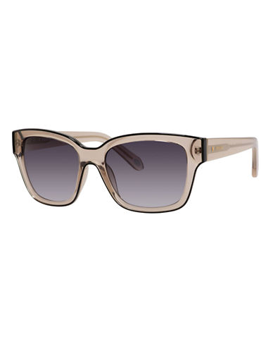 Fossil Wayfarer 3026 Sunglasses-TRANSPARENT GREY-One Size