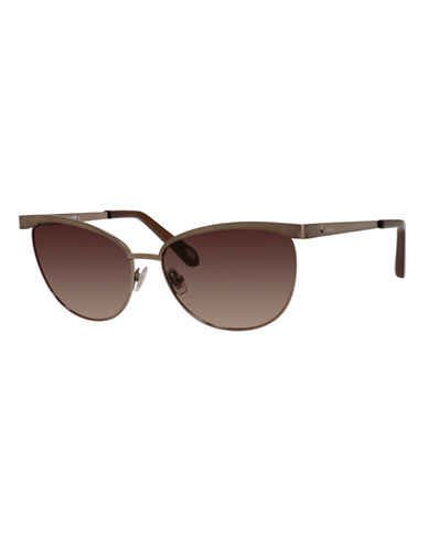 Fossil Round 3031 Sunglasses-ALMOND-One Size