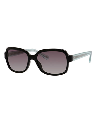 Fossil Square 3027 Sunglasses-BLACK CRYSTAL-One Size
