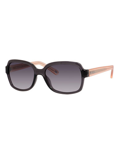 Fossil Square 3027 Sunglasses-GREY/PINK-One Size